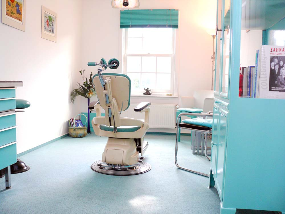 Patientenzimmer Neumann Zahntechnik